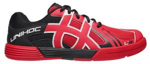 Unihoc U3 Junior neon red/black neonově červená / černá Dítě US 1 / UK 13 JR / EU 32 / 21,2 cm