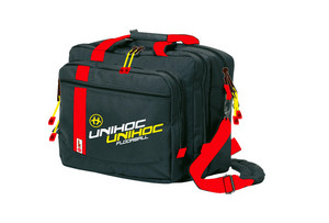 Unihoc Computer bag Crimson Line black Taška na notebook