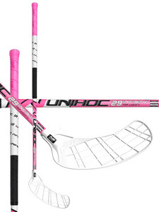 Floorball stick Unihoc INFINITY Top Light II 29 white/cerise `16
