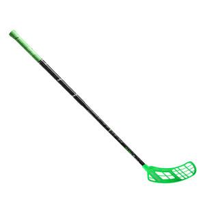 Florbalová hokejka Salming Quest3 Carbon Comp 27 `16 zelená / černá Pravá ruka níže 100cm (=110cm)