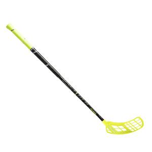 Florbalová hokejka Salming Quest3 Carbon Comp 32 JR `16 žlutá / černá Levá ruka níže 87cm (=97cm)