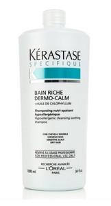 Kérastase Specifique Bain Riche Dermo-calm Shampoo for Dry Hair 1l