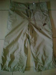 3/4 kalhoty Nike Capri Woven - 264545 XS Hnědá