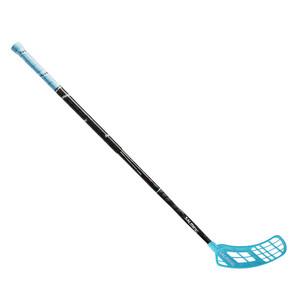 Florbalová hokejka Salming Quest3 KickZone `16 modrá / černá Pravá ruka níže 100cm (=110cm)