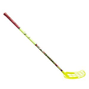 Florbalová hokejka Salming Quest1 X-shaft TourLite TC 2° `16 žlutá / červená Levá (levá ruka níže) 100cm (=110cm)