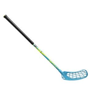 Florbalová hokejka Salming Quest2 Mid 35 `16 modrá / žlutá / černá Pravá (pravá ruka níže) 72cm (=82cm)