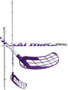 Florbalová hokejka Salming Quest 30 `16 fialová / bílá Pravá (pravá ruka níže) 87cm (=97cm)