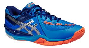 Asics Gel-Blast 6 modrá / stříbrná / oranžová UK 9 | US 10 | EU 44 | 28 cm