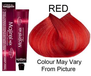 Barva na vlasy LOREAL MAJIREL MIX 50ml červená