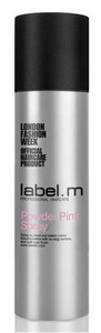 Růžový pudr LABEL.M Powder Spray Pink 50ml