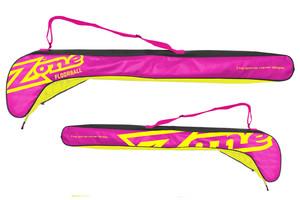 Zone floorball MEGA senior 91-104 růžová / žlutá / černá 104cm (=114cm)