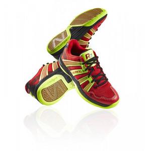 Sálová obuv Salming Race R3 3.0 Junior `16 červená / žlutá UK 4,5 | EU 37 1/3 | US 5 | 23,5 cm