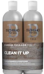 TIGI Bed Head for Men Clean Up Tween Duo 2x750ml