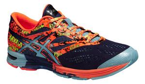 Běžecká obuv Asics Gel-Noosa Tri 10 `15 modrá / oranžová / námořnická modrá UK 9,5 | US 10,5 | EU 44,5 | 28,25 cm