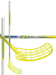 Florbalová hokejka Zone SUPREME Glovestick Superlight 29 neon yellow `16