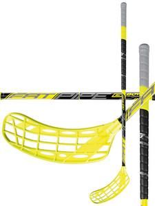 Florbalová hokejka Fatpipe G-BOW 27 ORC `16 žlutá / černá Pravá (pravá ruka níže) 101cm (=111cm)