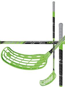 Florbalová hokejka Fatpipe G29 WIZ `16 černá / zelená Pravá ruka níže 101cm (=111cm)