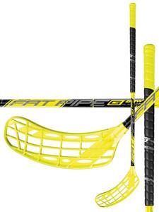 Florbalová hokejka FatPipe G-BOW 31 BOOM `16 žlutá / černá Levá (levá ruka níže) 92cm (=102cm)