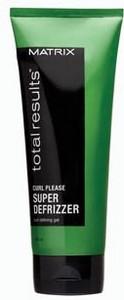 Gel MATRIX TOTAL RESULTS Curl Please Super Defrizzer 200ml