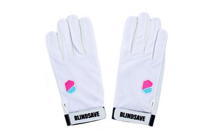 Brankářské rukavice Blindsave M bílá
