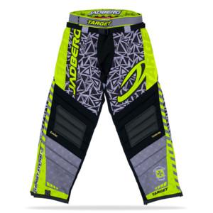 Jadberg Target Pants XXL šedá / limetková / černá