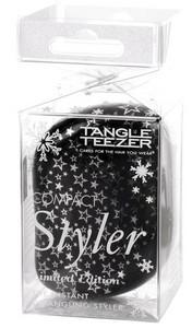 Kompaktní kartáč TANGLE TEEZER Compact Styler Twinkle Černá