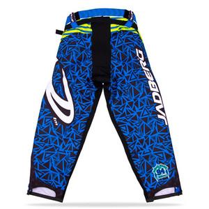 Jadberg Target Pants M modrá / šedá / neonově žlutá