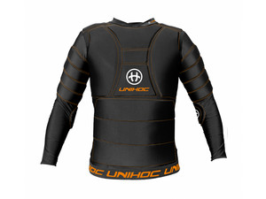 Unihoc FLOW black Goalie vest