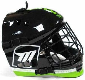 Brankářská helma MPS DEVIL `16 Junior zelená / černá