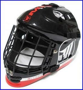 Brankářská helma MPS DEVIL `16 Junior červená / černá