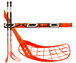 Floorball Schläger Oxdog Fusion 26 neon orange 101 round NB `16