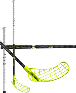 Unihoc REPLAYER TeXtreme Feather Light 26 yellow černá / žlutá Levá (levá ruka níže) 100cm (=110cm)