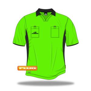 Rozhodcovský dres Jadberg Arbiter L neonově zelená Dlouhý rukáv