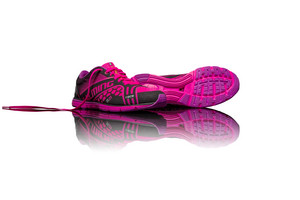 Salming Race Shoe Women Black/Pink Laufenschuhe