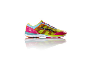 Salming Distance 3 Shoe Women Pink/Turquoise Running shoes