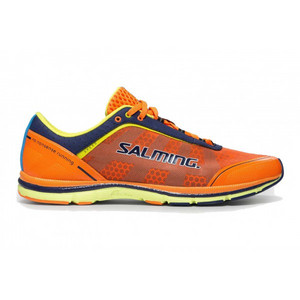 Salming Speed 3 Shoe Men Shocking Orange Laufenschuhe