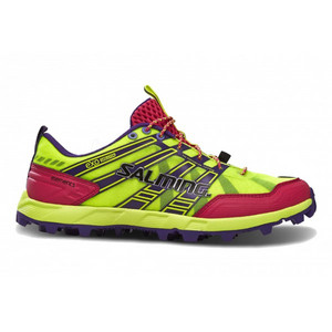 Salming Elements Shoe Women Safety Yellow/Pink Running shoes