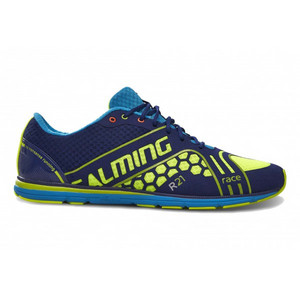 Salming Race 3 Shoe Men Navy/Safety Yellow Běžecká obuv