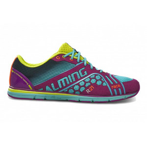 Salming Race 3 Shoe Women Turquoise/Purple Laufenschuhe