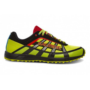Salming Trail T2 Shoe Men Safety Yellow/Black Laufenschuhe