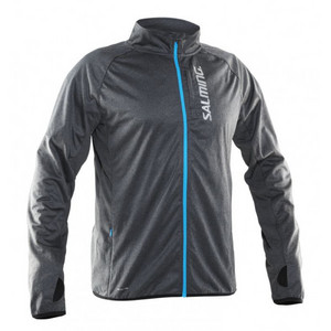Salming Running Jacket Men Grey Jacke