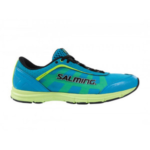 Salming Speed Shoe Junior Cyan Blue Běžecká obuv