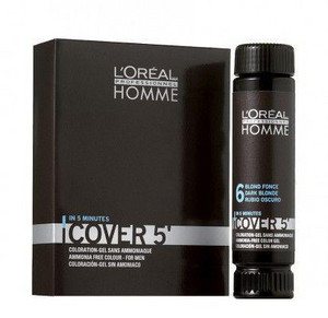 L'Oréal Professionnel Homme Cover 5 3x50ml 2 - černohnědá