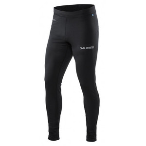 Salming Run Core Tights Men Black Running elastic pants