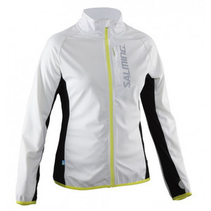 Salming Running Jacket Women White Bunda