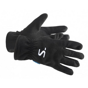 Salming Running Fleece Gloves XL/XXL, černá