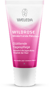Weleda Wild Rose Smoothing Day Cream ružový denný krém