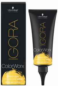 Schwarzkopf Professional Igora Color Worx Concentrates 100ml, Žlutá