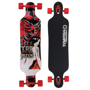 Tempish Horned Longboard