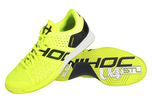 Unihoc U4 STL LowCut Men yellow Indoor shoes